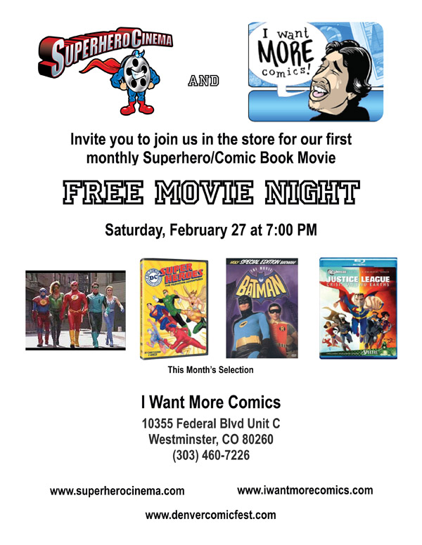 Movie Night Flyer Feb 2010