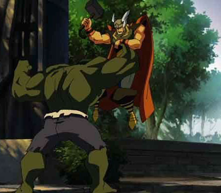 Little Thor Porn - Hulk vs. Thor VS Hulk vs. Wolverine